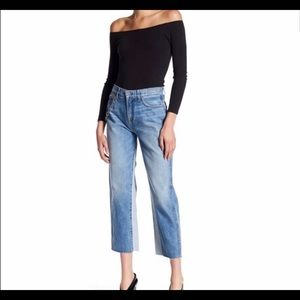 7 for all Mankind cut off vintage style crop jeans